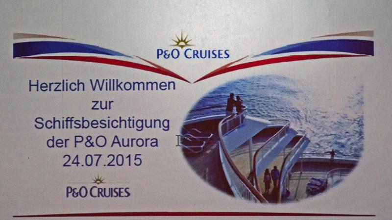 Schiffsbesichtigung Aurora